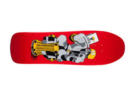 Powell Peralta Retro Barbee Hydrant Red 9.75