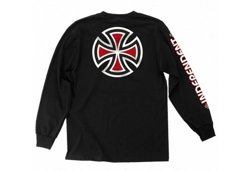 Independent Bar/Cross LS Black