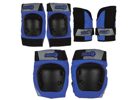 Sector 9 Pursuit Set Junior Pads Blue