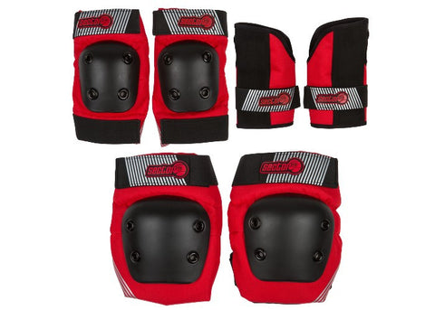 Sector 9 Pursuit Set Junior Pads Red