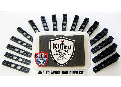 Riser Khiro Angled Wedge Rails Kit