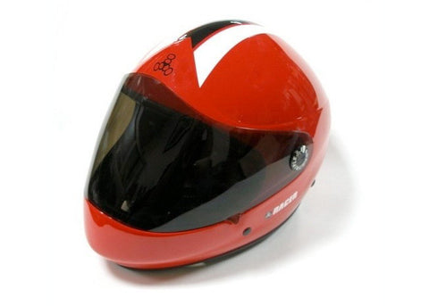Casque Triple 8 Racer Downhill rouge
