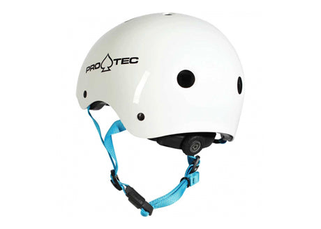 Casque Pro-Tec Jr. Classic Fit Certified Gloss White