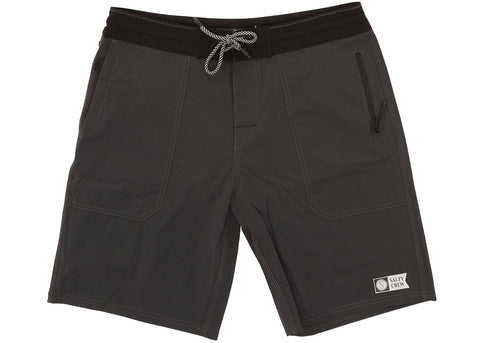 Salty Crew Leeward Utility Short Charcoal