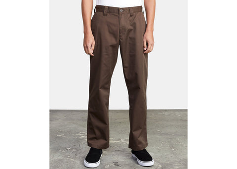 RVCA Americana Relaxed Fit Chino Chocolate