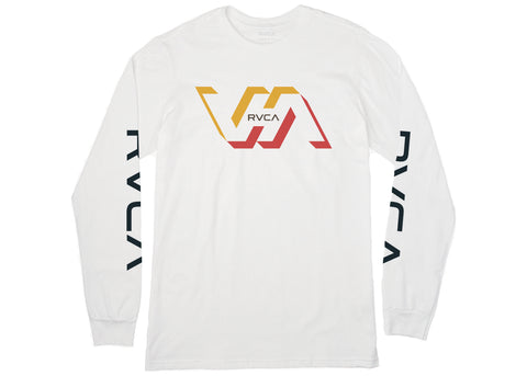 RVCA Facets L/S T-Shirt White