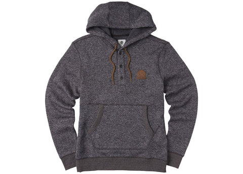 Element Highland Henley Hood Flint Black Heather