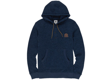 Element Highland Henley Hood Navy Heather