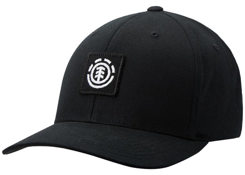 Element Treelogo Flexfit Cap Flint Black