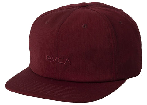 RVCA Tonally Embroidered Hat Wine