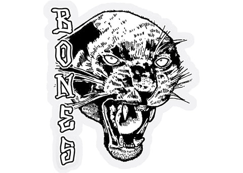 Bones Nightwatch Panther Sticker