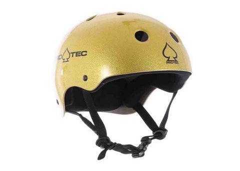 Casque Pro-Tec Classic Certified Gold Flake