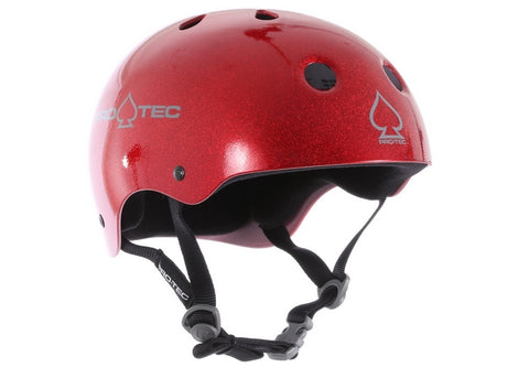 Casque Pro-Tec Classic Skate Red Metal Flake