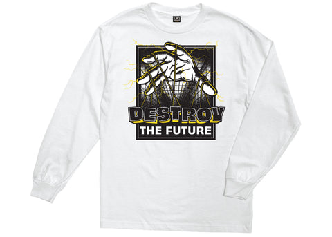 Loser Machine Puppet Master Stock LS Tee White