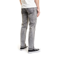 Brixton Reserve 5 Pocket Denim Black Acid Wash