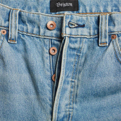 Brixton Reserve 5 Pocket Faded Indigo