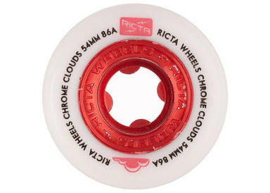 Ricta Chrome Clouds White/Red 86a 56mm