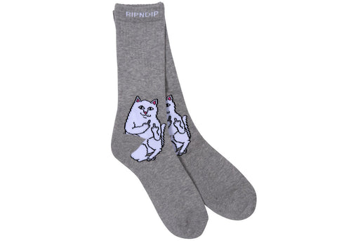 RipnDip Socks Lord Nermal Heather Grey
