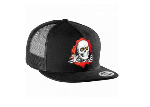 Powell Peralta  Ripper Cap Trucker Black
