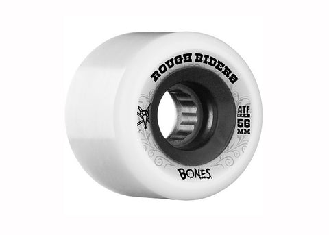 Bones ATF Rough Riders White 56mm