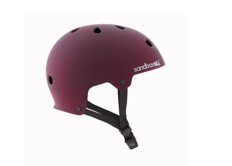 Casque Sand Box Legend Street  Burgundy