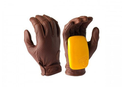 Sector 9 Driver 2 Slide Gloves Brun