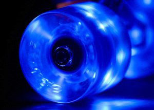 Sunset Flare LED bleu 65mm