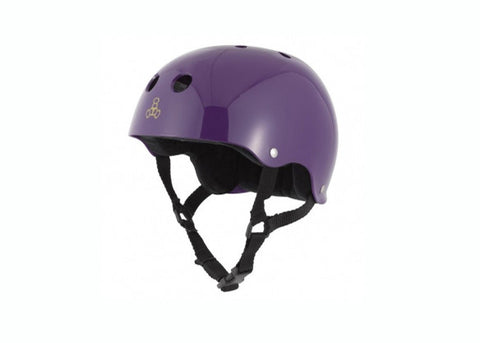 Casque Triple 8 Purple