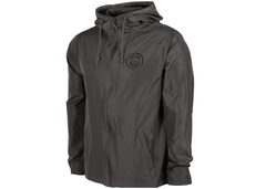 Spitfire Classic Swirl Hooded Lightweight Jacket Graphite with Black Print