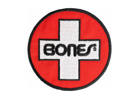 Bones Swiss Circle Patch