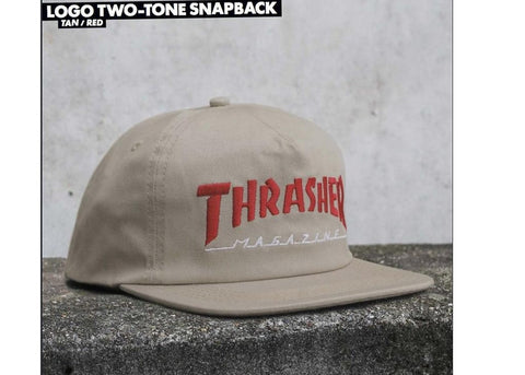 Thrasher Magazine Logo Two-Tone Tan