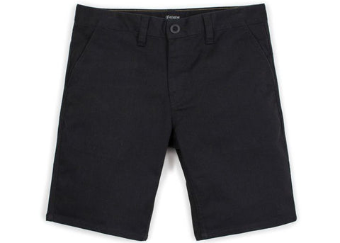 Brixton Toil II Hemmed Short Black
