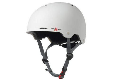 Casque Triple 8 Gotham White Rubber
