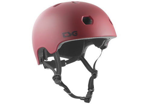 Casque TSG Meta Solid Color Satin Oxblood