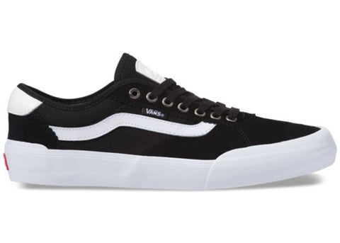 Vans Chima Pro 2 Suede Canvas Black White