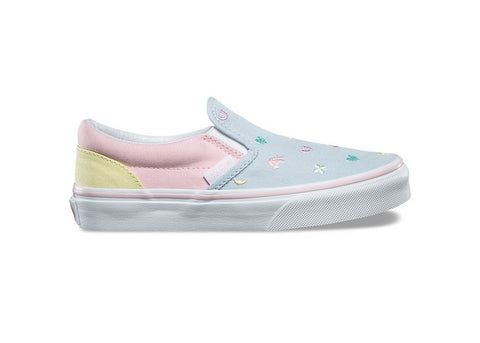 Vans Youth Classic Slip-On Charms Embroidery/Multi