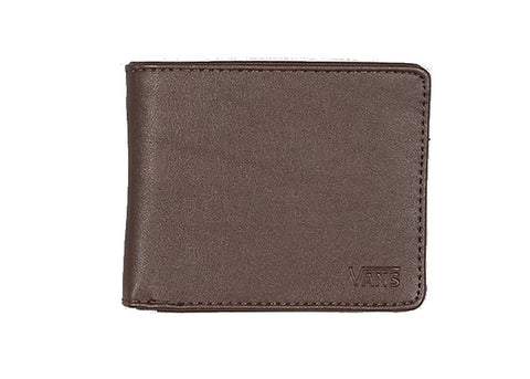 Vans Wallet Drop V Bifold Dark Brown