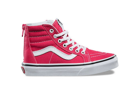 Vans Youth Sk8-Hi Zip Azaela/True White