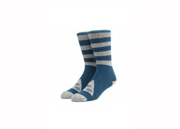 Welcome Triangle Socks Teal Heather