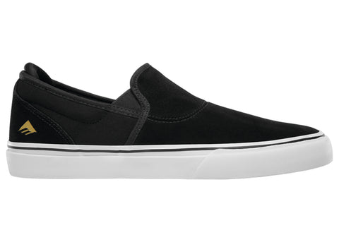 Emerica Wino G6 Slip-On Black White Gold
