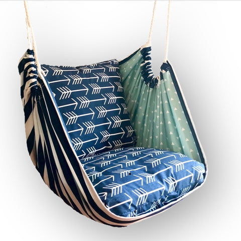 Premier Navy Hammock Chair - Urban Collective