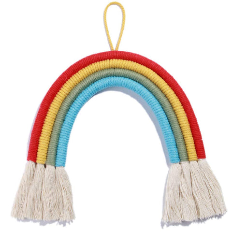 Woven Rainbow Wall Hanging - Urban Collective