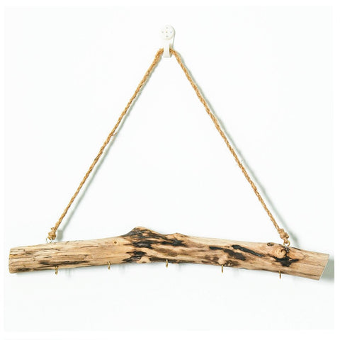 Driftwood Hanging Jewelry Organizer - Urban Collective
