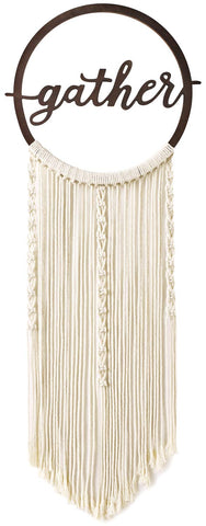 Gather Macrame Wall Decor - Urban Collective