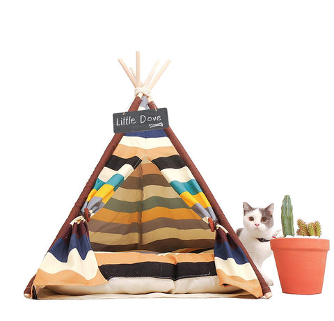 Pet Teepee - Colorful Style 24 Inch - Urban Collective
