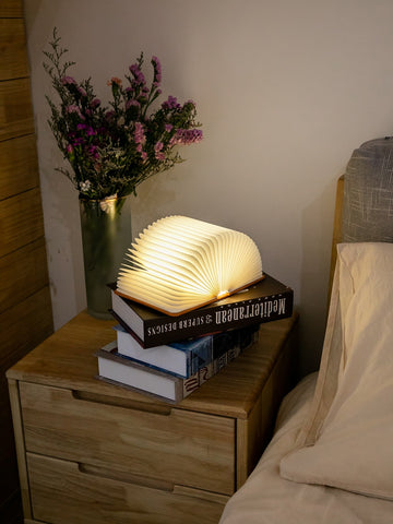 Book Shaped Night Lamp - Urban Collective
