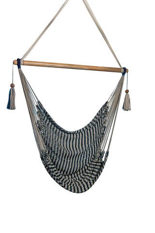 Handmade Organic Cotton Rope Hammock Chair - Urban Collective