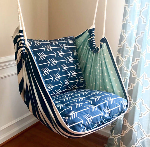 Premier Navy Hammock Chair