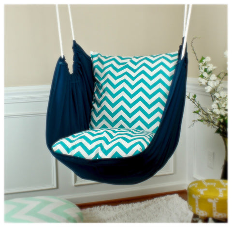 Zig Zag Hammock Chair Swing - Urban Collective