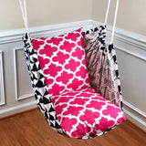 Hammock Chair - Candy Pink, Black & White - Urban Collective